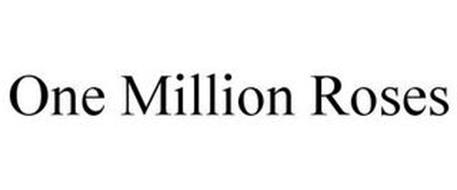 ONE MILLION ROSES