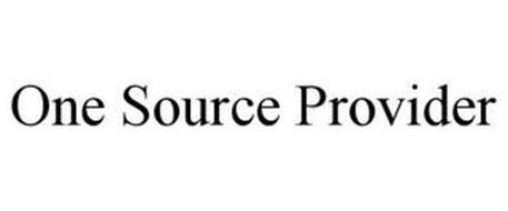 ONE SOURCE PROVIDER