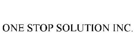 ONE STOP SOLUTION INC.