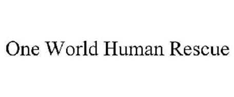 ONE WORLD HUMAN RESCUE