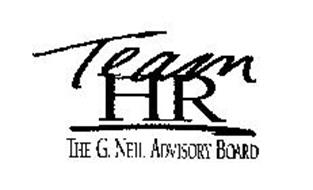 TEAM HR THE G. NEIL ADVISORY BOARD