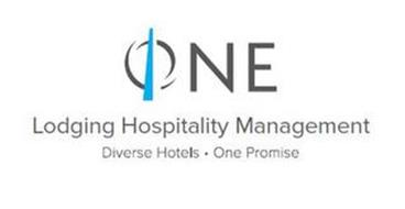 ONE LODGING HOSPITALITY MANAGEMENT DIVERSE HOTELS  ·  ONE PROMISE