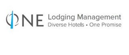 ONE LODGING MANAGEMENT DIVERSE HOTELS· ONE PROMISE