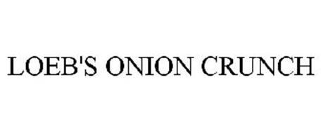 LOEB'S ONION CRUNCH