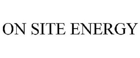 ON SITE ENERGY