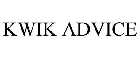KWIK ADVICE