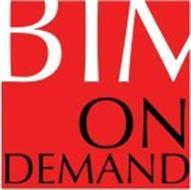 BIM ON DEMAND