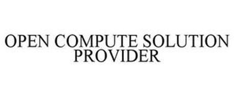 OPEN COMPUTE SOLUTION PROVIDER
