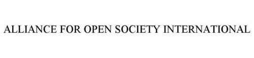 ALLIANCE FOR OPEN SOCIETY INTERNATIONAL