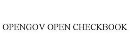 OPENGOV OPEN CHECKBOOK