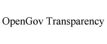 OPENGOV TRANSPARENCY