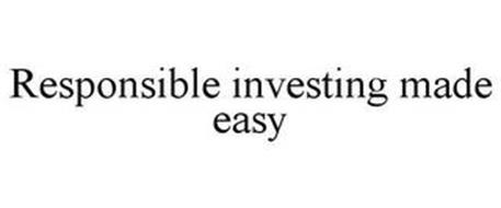 RESPONSIBLE INVESTING MADE EASY