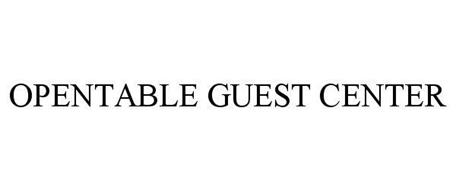 OPENTABLE GUEST CENTER