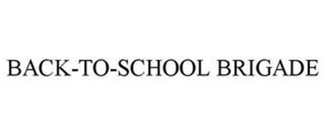 BACK-TO-SCHOOL BRIGADE