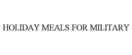 HOLIDAY MEALS FOR MILITARY