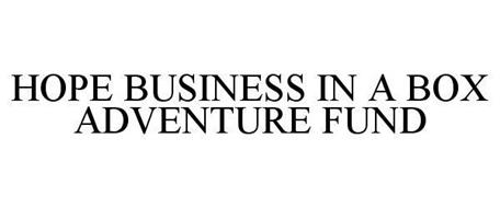 HOPE BUSINESS IN A BOX ADVENTURE FUND