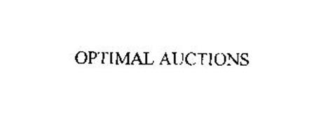 OPTIMAL AUCTIONS