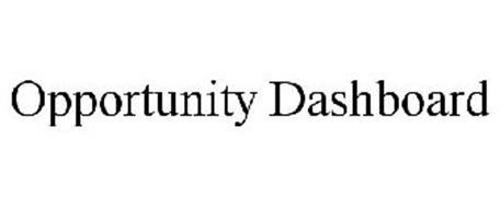 OPPORTUNITY DASHBOARD