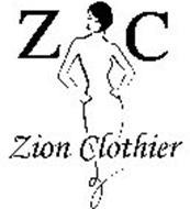 Z C ZION CLOTHIER