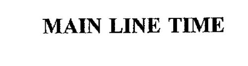 MAIN LINE TIME