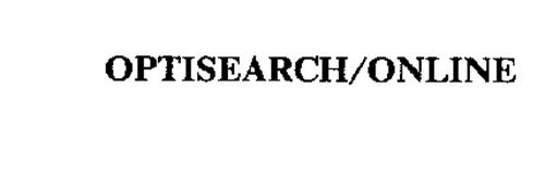 OPTISEARCH/ONLINE