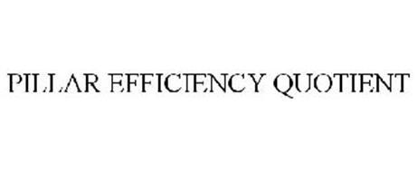 PILLAR EFFICIENCY QUOTIENT