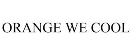 ORANGE WE COOL