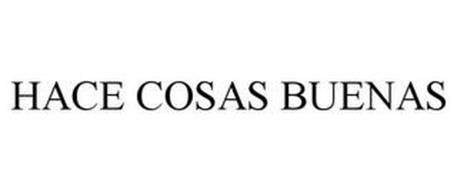 HACE COSAS BUENAS