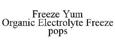 FREEZE YUM ORGANIC ELECTROLYTE FREEZE POPS