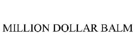 MILLION DOLLAR BALM