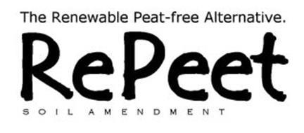 THE RENEWABLE PEAT-FREE ALTERNATIVE. REPEET SOIL AMENDMENT