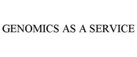 GENOMICS AS A SERVICE