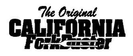 THE ORIGINAL CALIFORNIA FORKDUSTER