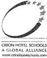 ORION HOTEL SCHOOLS A GLOBAL ALLIANCE WWW.ORIONHOTELSCHOOLS.COM