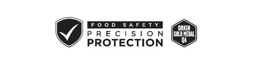 FOOD SAFETY PRECISION PROTECTION ORKIN GOLD MEDAL QA
