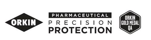 ORKIN PHARMACEUTICAL PRECISION PROTECTION ORKIN GOLD MEDAL QA