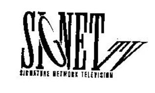 SIGNET TV SIGNATURE NETWORK TELEVISION