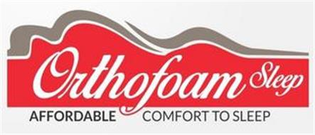 ORTHOFOAM SLEEP AFFORDABLE COMFORT TO SLEEP