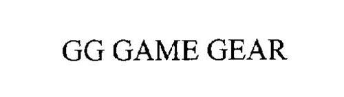GG GAME GEAR