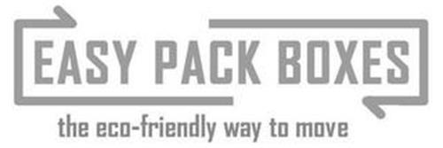 EASY PACK BOXES THE ECO-FRIENDLY WAY TO MOVE
