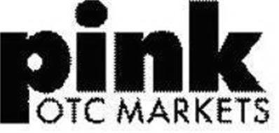 PINK OTC MARKETS Trademark of OTC Markets Group Inc. Serial Number: 77873566 :: Trademarkia ...