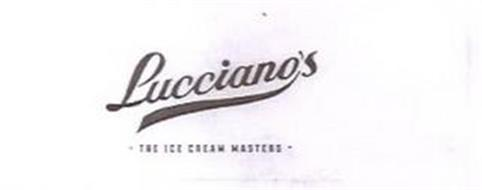 LUCCIANO'S · THE ICE CREAM MASTERS ·