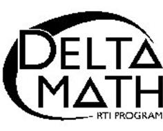 DELTA MATH RTI PROGRAM