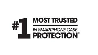 #1 MOST TRUSTED IN SMARTPHONE CASE PROTECTION