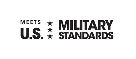 MEETS U.S. MILITARY STANDARDS