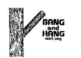 BANG AND HANG WALL PEG