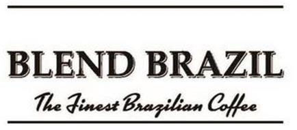 BLEND BRAZIL THE FINEST BRAZILIAN COFFEE