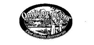 OUTDOOR DECOR FINE GARDEN ACCESSORIES