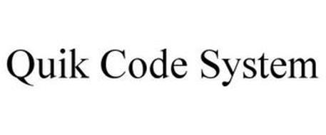 QUIK CODE SYSTEM
