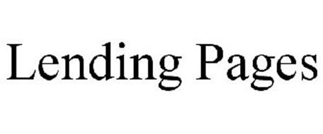 LENDING PAGES